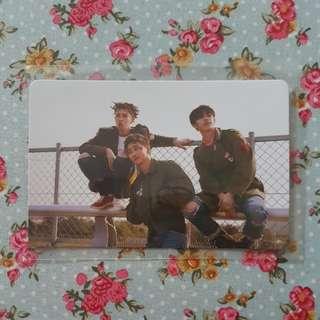 Block B Bastarz Group Photocard