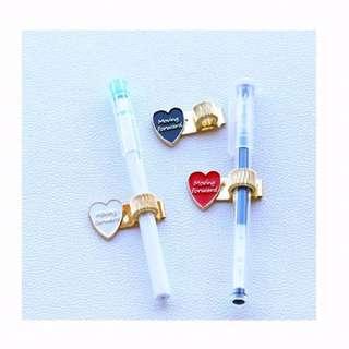 Heart Pen Clip