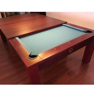 8FT Custom Dining Pool Table - Wiraka