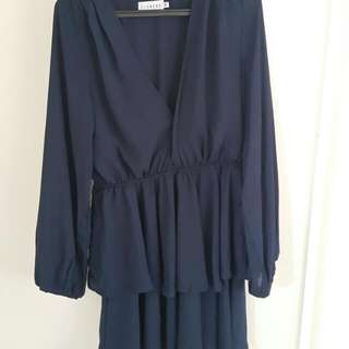 Navy Blue Amalfi Dress