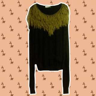 Calvin Klein Fringed Top