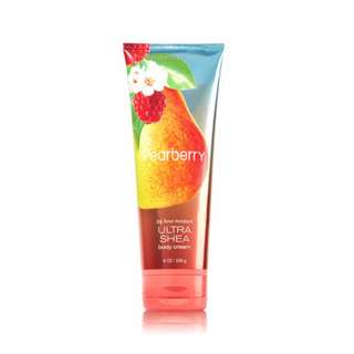💯 PEARBERRY BODY CREAM BATH&BODY WORKS