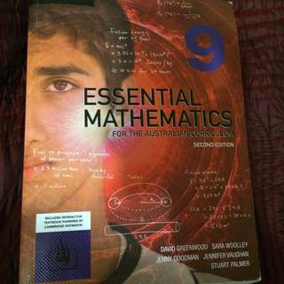 Essential Mathematics For The Australian Curriculum Second Edition Year 9