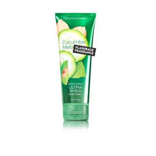 💯 CUCUMBER MELON BODY CREAM BATH&BODY WORKS