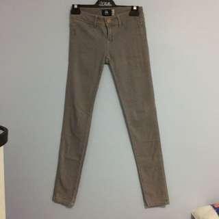 Bershka Grey Jeans