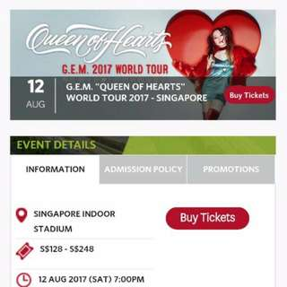 G.E.M 邓紫棋《QUEEN OF HEARTS》世界巡回演唱会 2017 - 新加坡站 / SINGAPORE