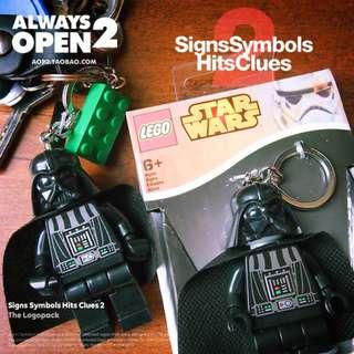 在黑暗中照亮你找鑰匙開門的黑武士鑰匙扣 星際大戰