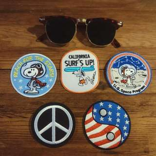 🚚 Snoopy 史奴比 布章 Patches