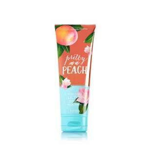 💯 PRETTY AS A PEACH BODY CREAM BATH&BODY WORKS