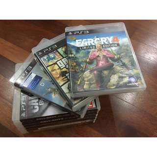 Pre Owned Ps3 Games
