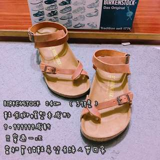 BIRKENSTOCK 涼鞋 24cm (37號)