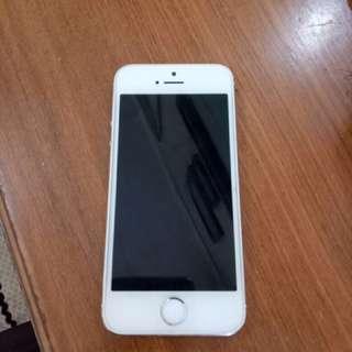 I Phone 5s Silver 16 GB