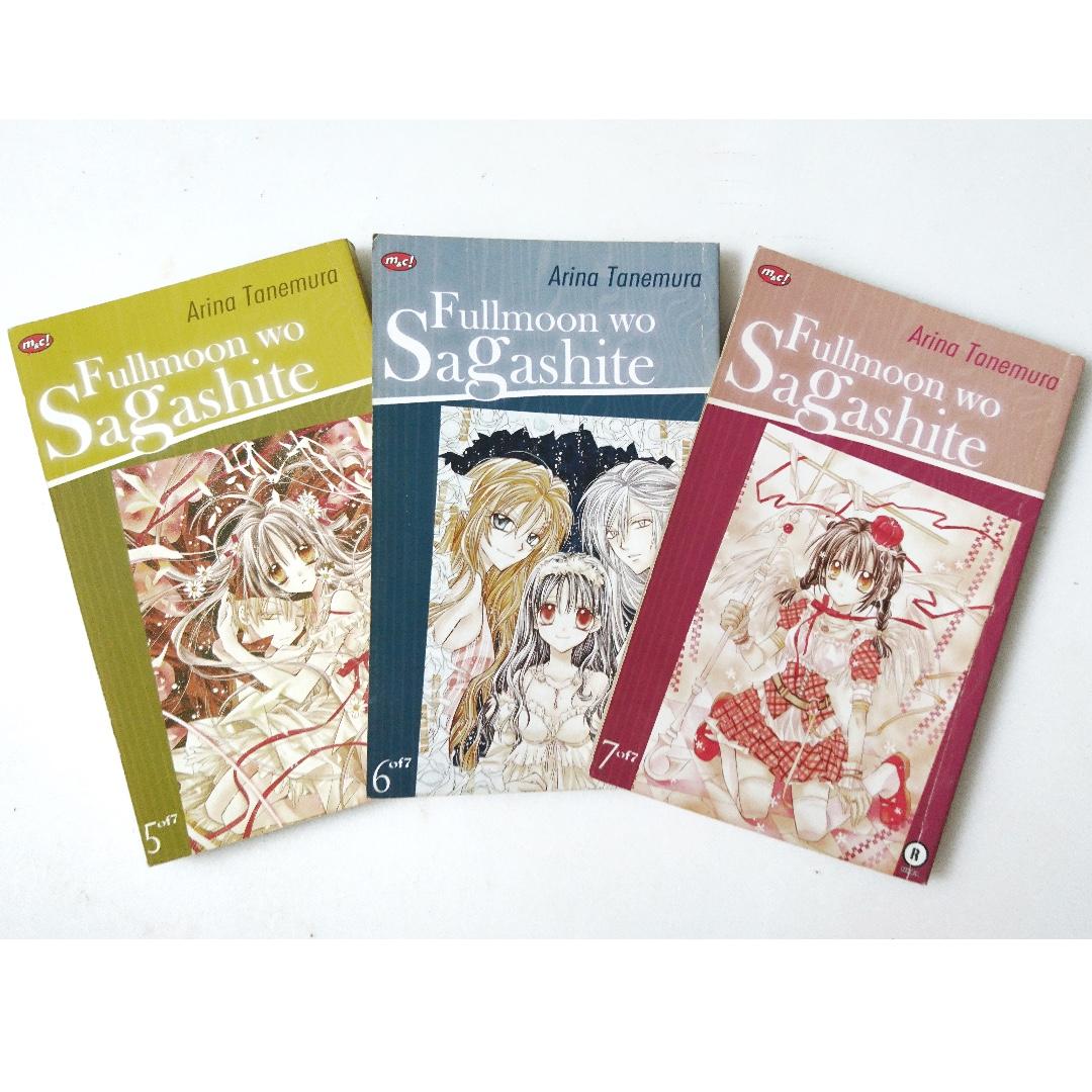 1 set Fullmoon Wo Sagashite / Search for a Fullmoon