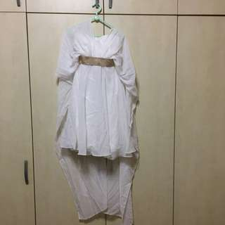 Preloved White Angelic Dress