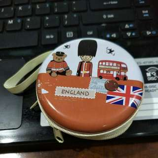 earpiece or coin pouch