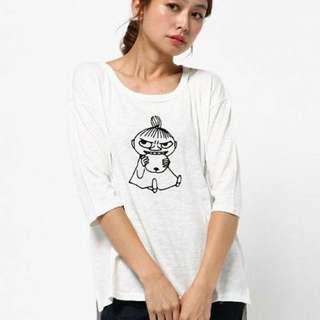 🚚 SM2 嚕嚕米 聯名七分袖T Shirt