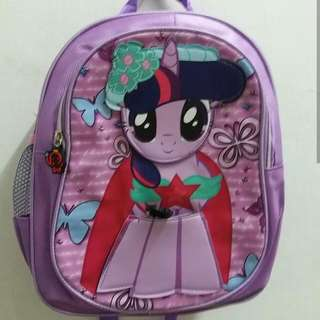 Tas Ransel / Backpack anak TK My little pony