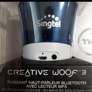 Creative Woof 3 Bluetooth Speaker