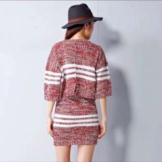KNITTED TERNO