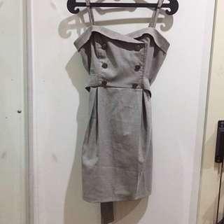 Forever21 Royal Grey Dress