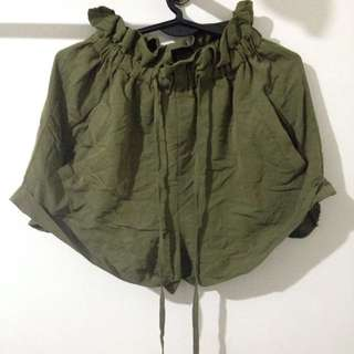 (RESERVED) Army Green Highwaisted Shorts