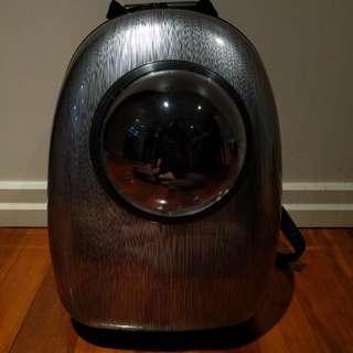 Astronaut Capsule Bubble Pet Carrier