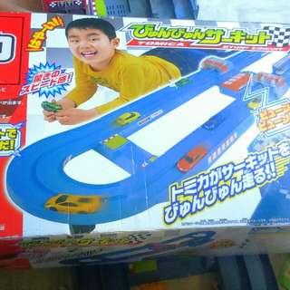 Takara Tomica  Byun Byun Circuit Track Set Toy