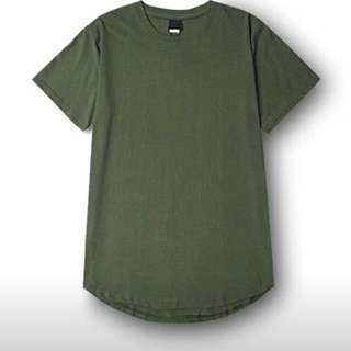 韓版圓弧下擺潮流百搭款內搭單穿純棉上衣短袖