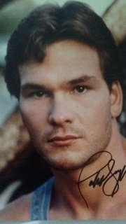 8x10 Autograph Photo Of Patrick Swayze W/coa