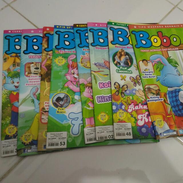 8 Eksemplar Majalah Bobo