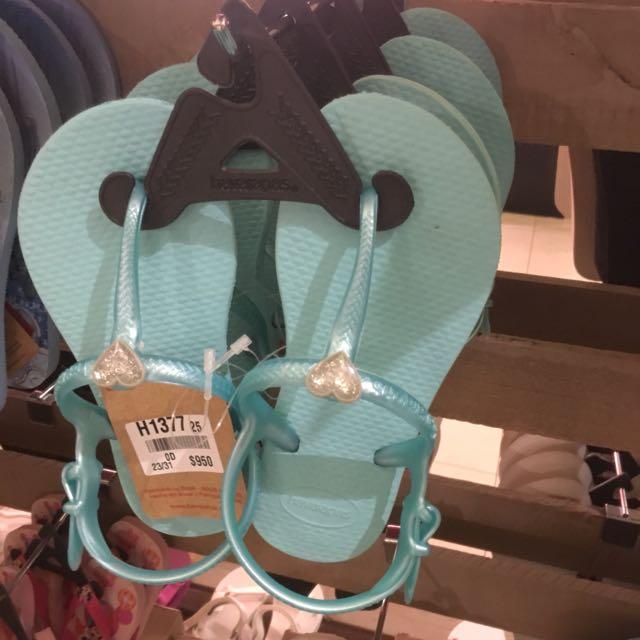 哈瓦士涼鞋