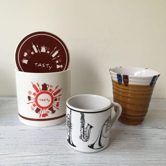 西提調味罐、水杯 #居家生活好物