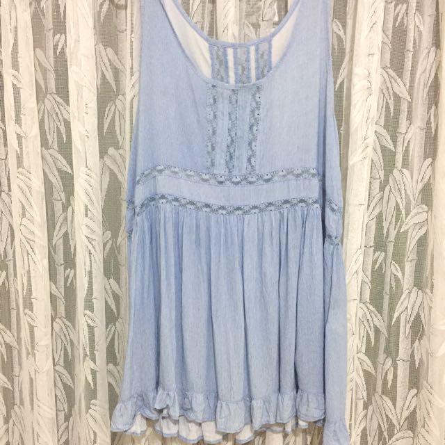 夏日 渡假風 洋裝 蕾絲洋裝