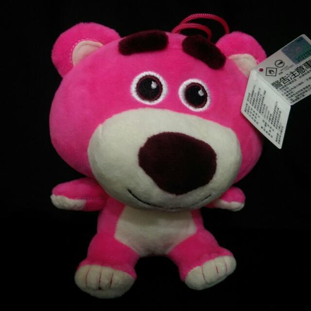 [售]夾娃娃機戰利品 迪士尼 玩具總動員 熊抱哥 全新 120元。 尺寸約為:17*14*13公分 運費另計:郵寄80元超商純取貨60元 可蝦皮(依蝦皮)!(台中可面交) 其他平臺同步