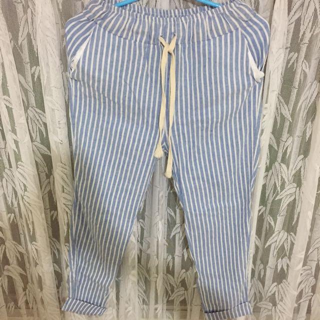 老爺褲 棉麻 日系 無印良品 的風格