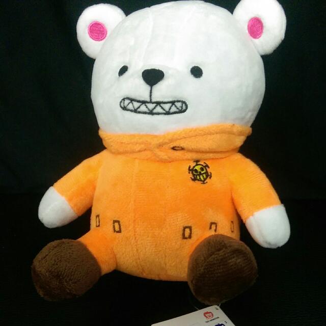 [售]夾娃娃機戰利品 海賊王 航海王 培波 有小熊標籤 全新 180元。