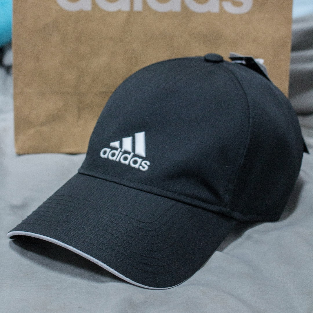 Adidas 黑色老帽 可調式 one SIZE 好看