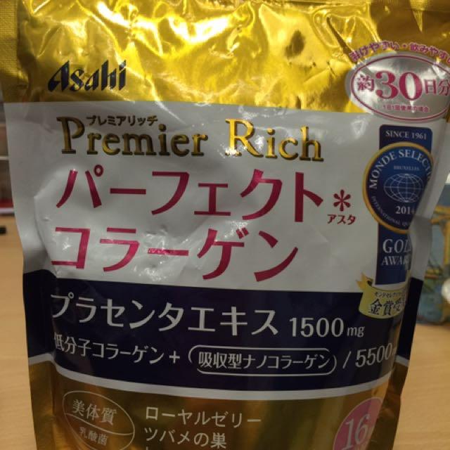 Asahi 朝日 膠原蛋白粉 白金升級版 袋裝(約30天份)