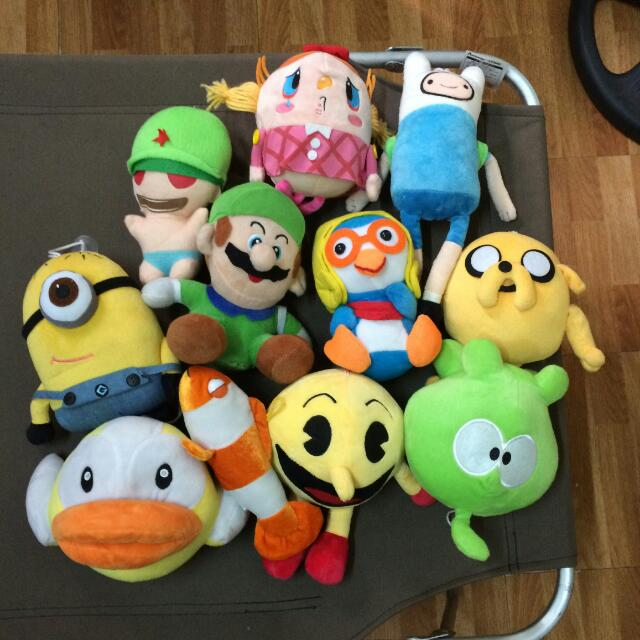 Assorted Plushies