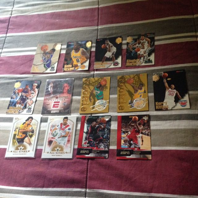 AUTHENTIC BASKETBALL CARDS