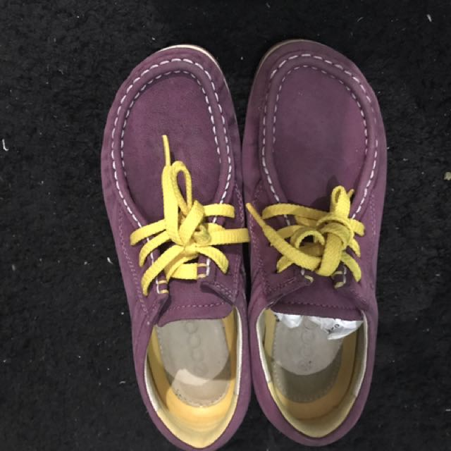 Authentic ECCO suede loafers