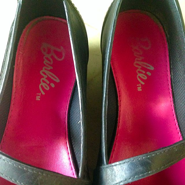 Barbie Black Shoes For You're Kids