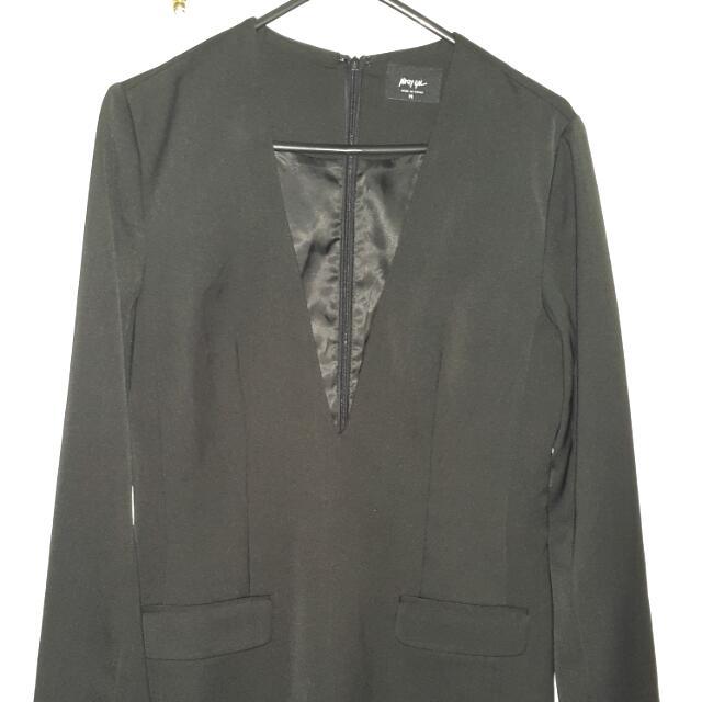 Black Blazer/suit Looking Dress