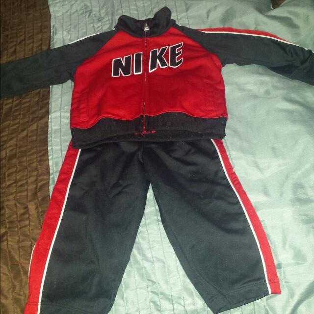 Boys Nike Track Suit