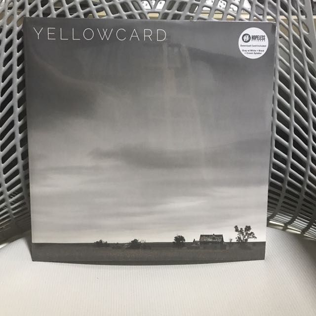 *BRAND NEW/SEALED* Limited Edition Yellowcard - Self Titled Final Album Vinyl 2LP Grey With Splatter