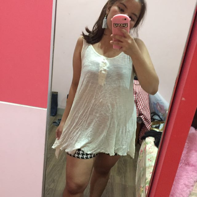 Brokenwhite Semi Dress