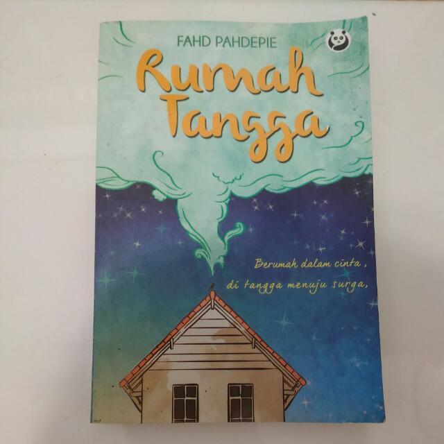 Buku Rumah Tangga - Fahd Pahdepie Edisi Kartu Pos Ber-Ttd