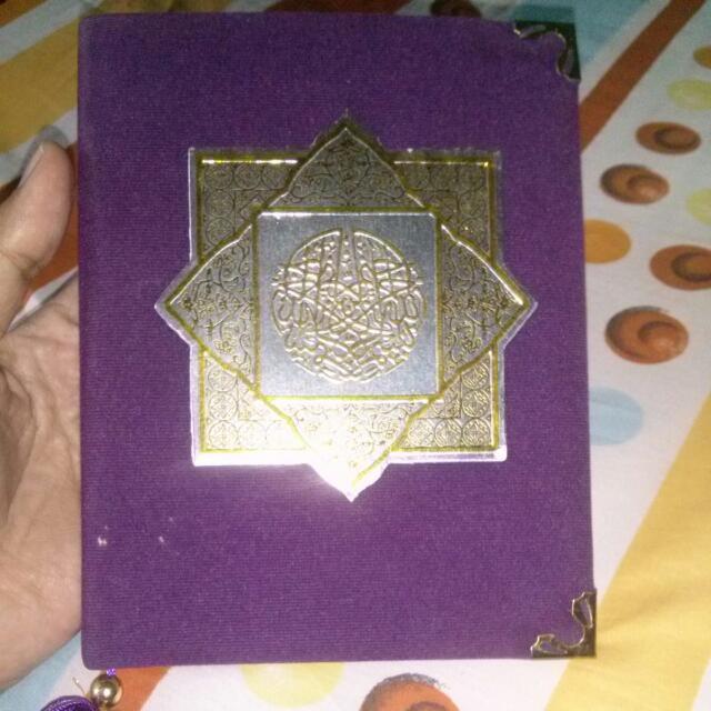 Buku Yasin Dan Tahlil.