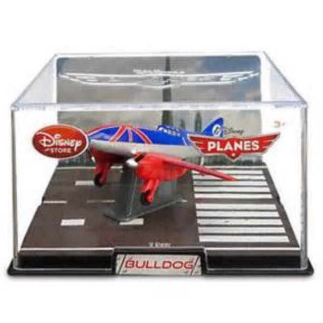 Bulldog Die Cast Plane - Planes: Fire & Rescue