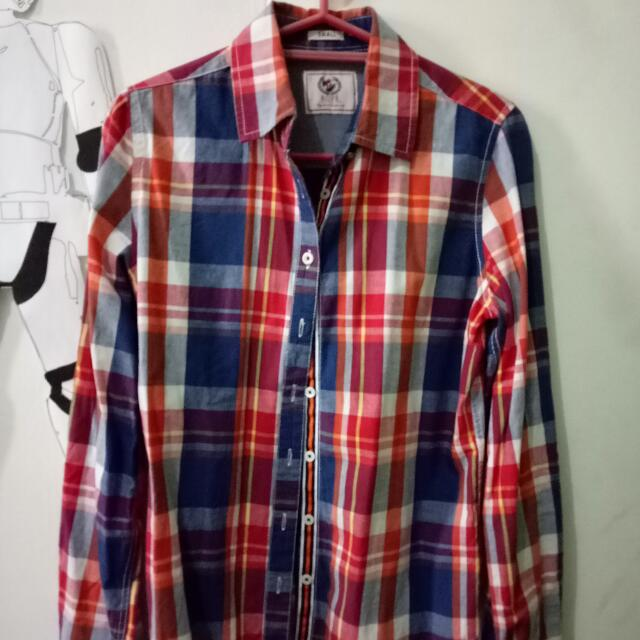 Checkered Long Sleeve (Rope)